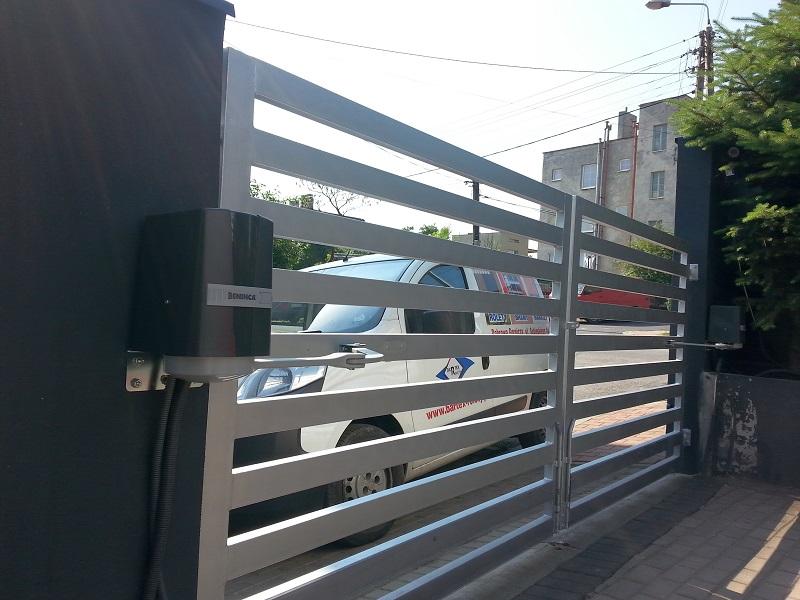 Automatyka do bram wjazdowych